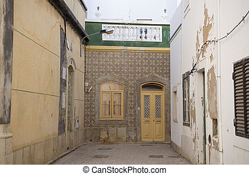 EUROPE PORTUGAL ALGARVE OLHAO OLD TOWN - the Old Town of...
