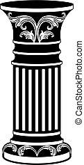 Architectural decorative column