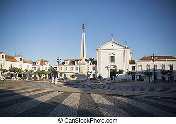 EUROPE PORTUGAL ALGARVE VILA REAL OLD TOWN - the parca do...