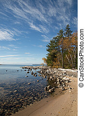 Katherine Cove Lake Superior Calm and sunny