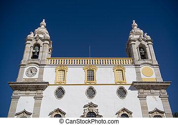 EUROPE PORTUGAL ALGARVE FARO IGREJA DO CARMO - the Igreja do...