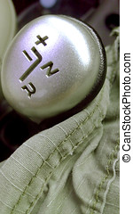 Semi gear silver metallic