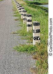 asphalt road in country