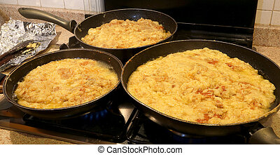 the typical dish called FRICO Of the Italian region of...