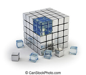 different cube