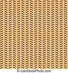 Cane wicker parquet seamless pattern