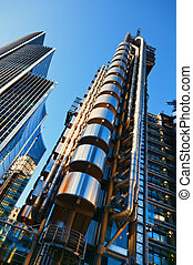 The Lloyds Building and Willis Building - The Lloyds...