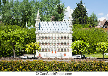 BRUSSELS, BELGIUM - 13 MAY 2016: Miniatures at the park...
