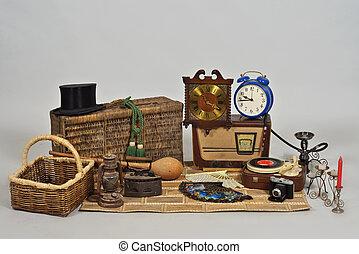 vendemmia, oggetti