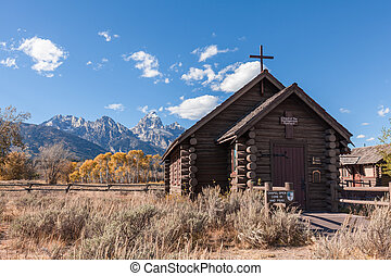 Chapel of the Transfiguration in Fall - historic chapel of...