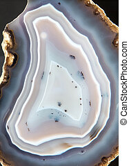 Stone mineral- Agate - close up view