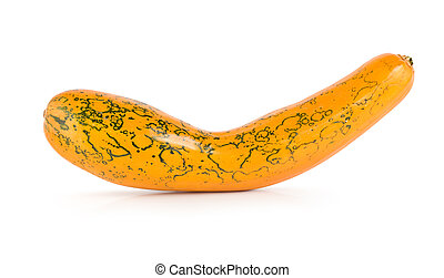 Squash isolated on a white background