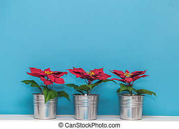 beautiful Christmas pot - beautiful Christmas vases in a...