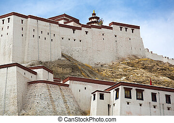 Potala Palace, Tibet - Historic home of the Dalai Lama,...