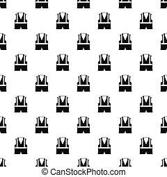 Reflective vest pattern, simple style - Reflective vest...