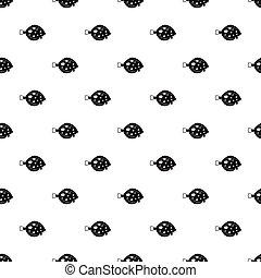 Fish flounder pattern, simple style - Fish flounder pattern....