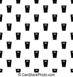 Dustbin pattern, simple style - Dustbin pattern. Simple...