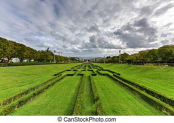 Eduardo VII Park - Lisbon, Portugal - Eduardo VII Park named...