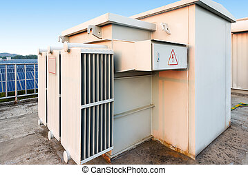 Box type substation - Outdoor photovoltaic power plants and...