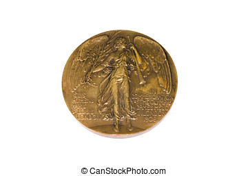 London 1908 Olympic Games Participation medal obverse...