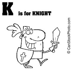 K Is For Knight Text