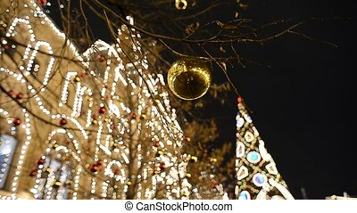 Decorations object in christmas. - shiny Decorations object...