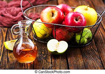 Vinagre, sidra, manzana