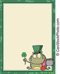 St Paddy\'s Day Frog