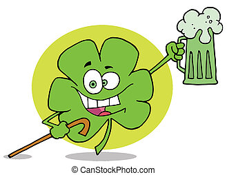 Happy Green Clover