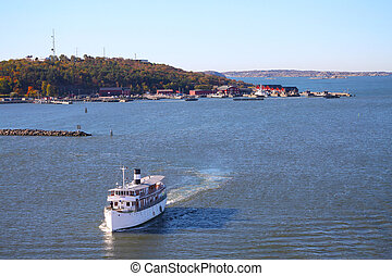 Gothenburg archipelago - Gota River in the archipelago of...