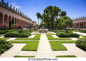 John and Mable Ringling Museum of Art in Sarasota FL - The...
