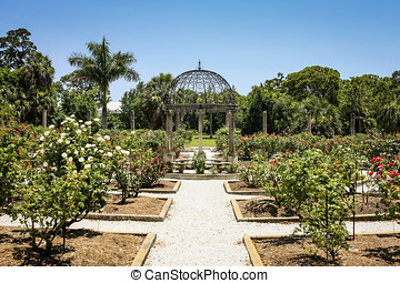 Mable Ringling's Rose Garden in Sarasota FL - Mable...