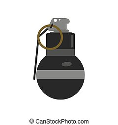 Grenade bomb - Grenade explosive bomb military army weapon....