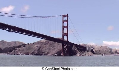 View on Golden Gate Bridge - Golden Gate Bridge in San...