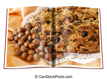 book of Genoese Panettone homemade - book of Genoese...