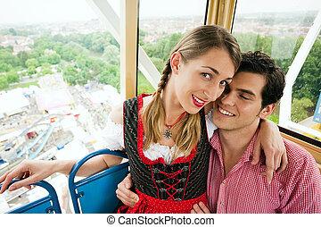 Carnival couple - Ferris wheel