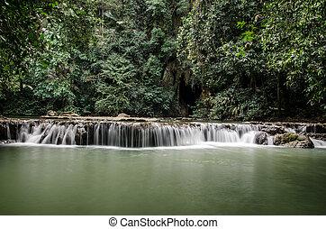 waterfall Krabi - The waterfall at Than Bok Khorani National...