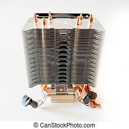 The CPU Cooler. - GOMEL, BELARUS - September 15, 2016:...