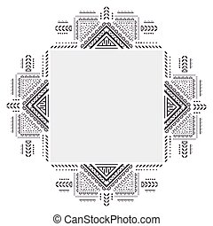 Vintage ornament for your business. On a white background.