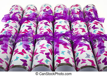 Traditional Crackers - A shot of a set of Crackers or...