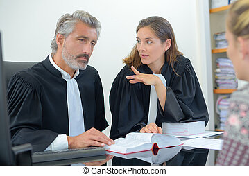 meeting with judges