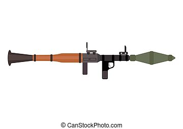 Vector assault rifle heavy weapon with grenade launcher...