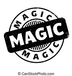 Magic rubber stamp