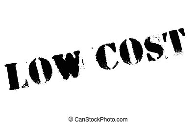 Low Cost rubber stamp. Grunge design with dust scratches....