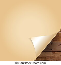 Paper Corner Folds. Vector illustration.