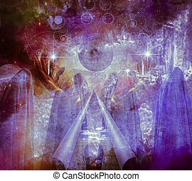 Mystical Abstract Painting