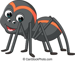 Cartoon spider tarantula - illustration of spider tarantula...