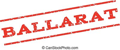 Ballarat Watermark Stamp - Ballarat watermark stamp. Text...