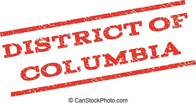 District Of Columbia Watermark Stamp - District Of Columbia...