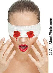 Blood eyewater